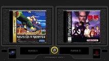Virtua Fighter 2 vs Tekken 2 (Sega Saturn vs Playstation) Side by Side Comparison