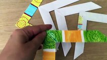 DIY Toys Origami How to make a paper Frog - video dailymotion