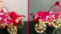 Custom Ever After High Horse - Apple Whites horse friend (custom horse and carriage)