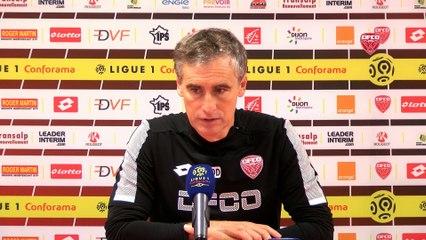 DFCO-FC Nantes : la conférence de presse d'Olivier Dall'Oglio