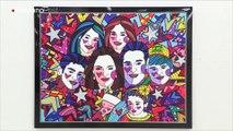 """Los """"Retratos"""" de Romero Britto para transmitir """"alegría y esperanza"""""""