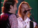 Sting with Peter Gabriel & Bruce Springsteen. Human Rights Now! 1988