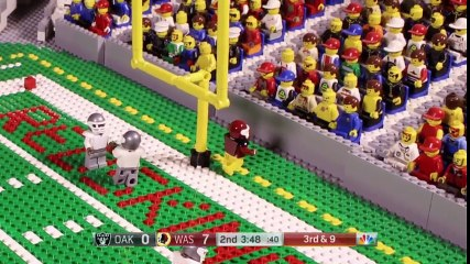 NFL Top 10 Plays September 2017 Lego Game Highlights