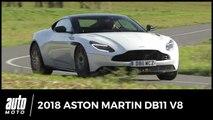 2018 Aston Martin DB11 V8 [essai]