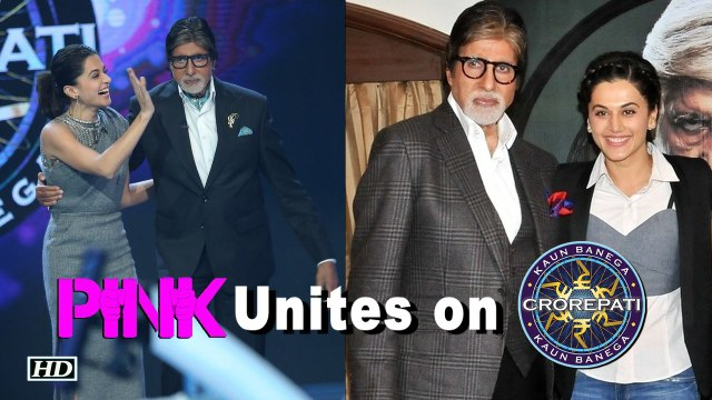 When 'Pink' united on 'Kaun Banega Crorepati'