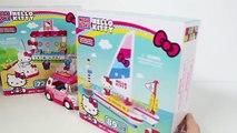 Hello Kitty Sailboat Megablocks Bateau à Voile Velero de Hello Kitty Bloks Ship ハローキティ
