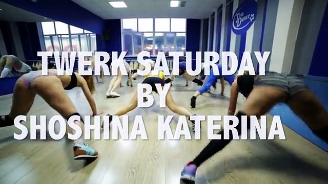 Saturday Twerk class with Shoshina Katerina