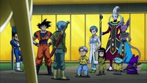 Trunks se Despide de Goku,Vegeta,Bulma y Trunks del Futuro - Dragon Ball Super Español Latino [HD]