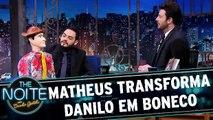 Matheus transforma Danilo em boneco