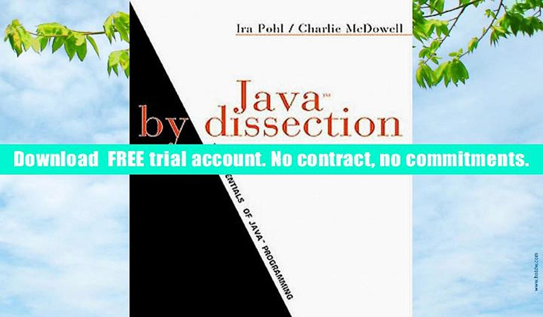 [Download]  Java by Dissection: The Essentials of Java Programming: International Edition Ira Pohl