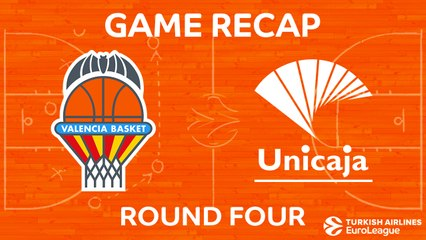 EuroLeague 2017-18 Highlights Regular Season Round 4 video: Valencia 91-53 Unicaja
