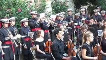 Marcha Virgen de la Paz. Orquestra de l'EMMCA i Banda de Cornetas y Tambores AM Cofradía 15+1. 2017