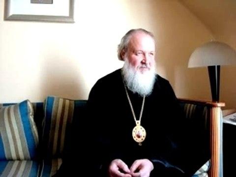 Entretien avec le patriarche russe Cyrille