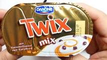 German Desserts - Twix Mix, Mars Mix, Mix Smarties, Danone M&Ms Mix & Danone M&Ms Vanilla Joghurt