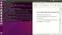 How To Install and Use HTML5 in Google Chrome (Ubuntu 10 04
