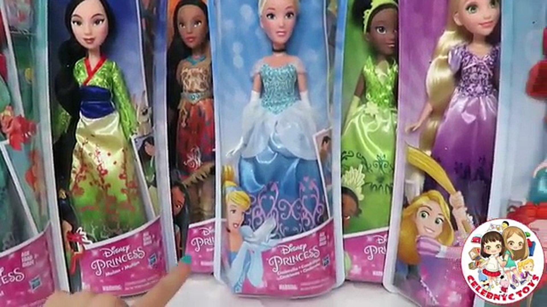 Rapunzel Disney Princess Royal Shimmer Doll Mattel