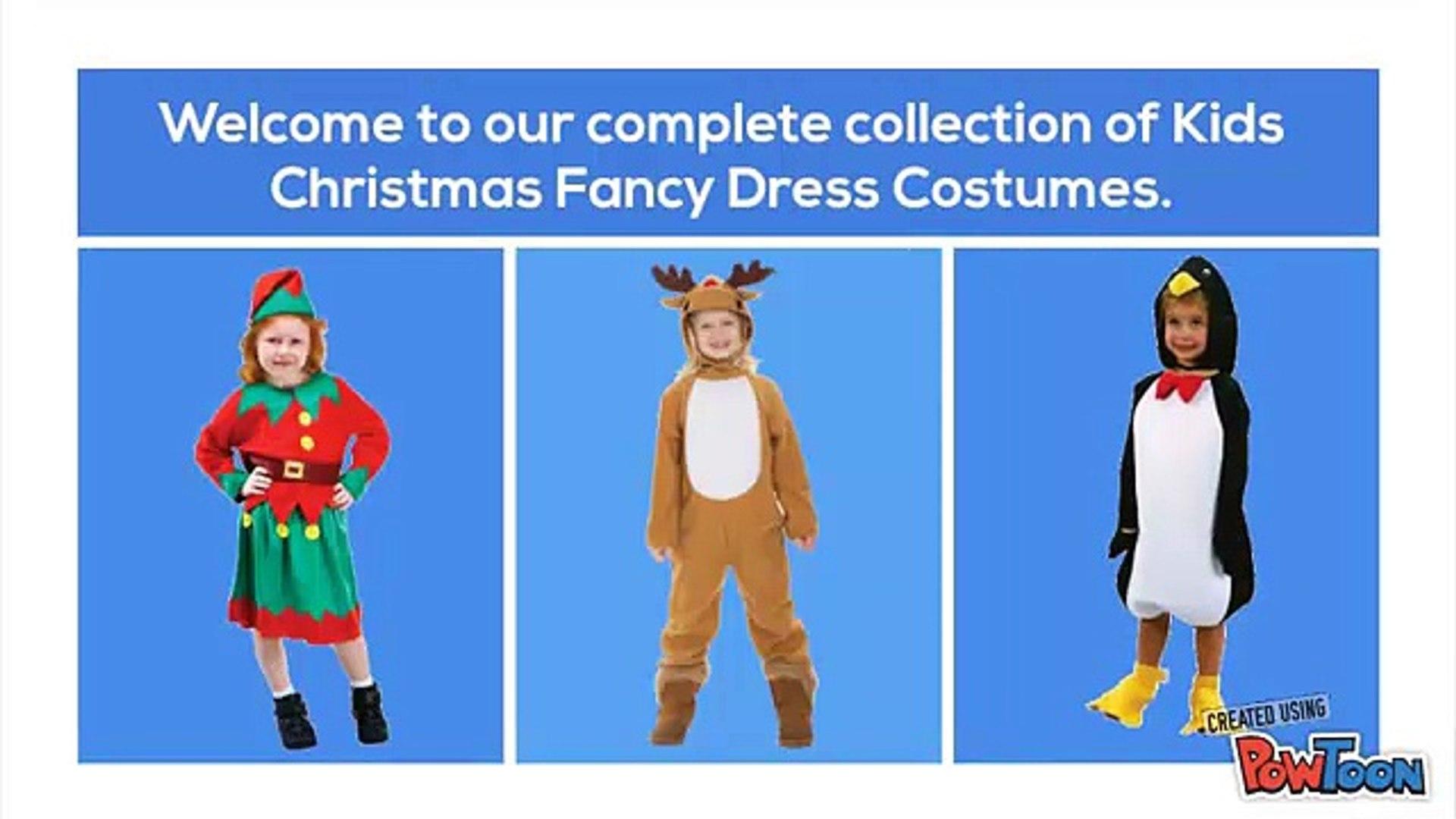 Christmas Fancy Dress Kids.Kids Christmas Fancy Dress Costumes