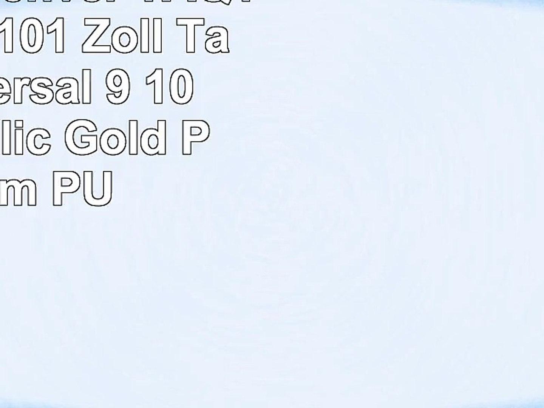 Emartbuy Denver TAQ10172 MK3 101 Zoll Tablet Universal  9  10 Zoll  Metallic Gold