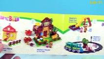 Masha and The Bear And Peppa Pig Blocks Mega House Construction Lego Sets Fun Toys For Kids