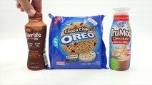 Choco Chip Oreo Cookies, Fairlife & TruMoo Chocolate Milk