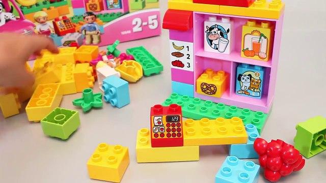 LEGO Duplo Shop & Market Cash Register & Car Toys 레고 듀플로 마트놀이 타요 뽀로로 폴리 장난감