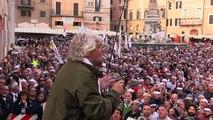 Beppe Grillo #TagliateIVitalizi non la Democrazia - Pantheon - MoVimento 5 Stelle - M5S