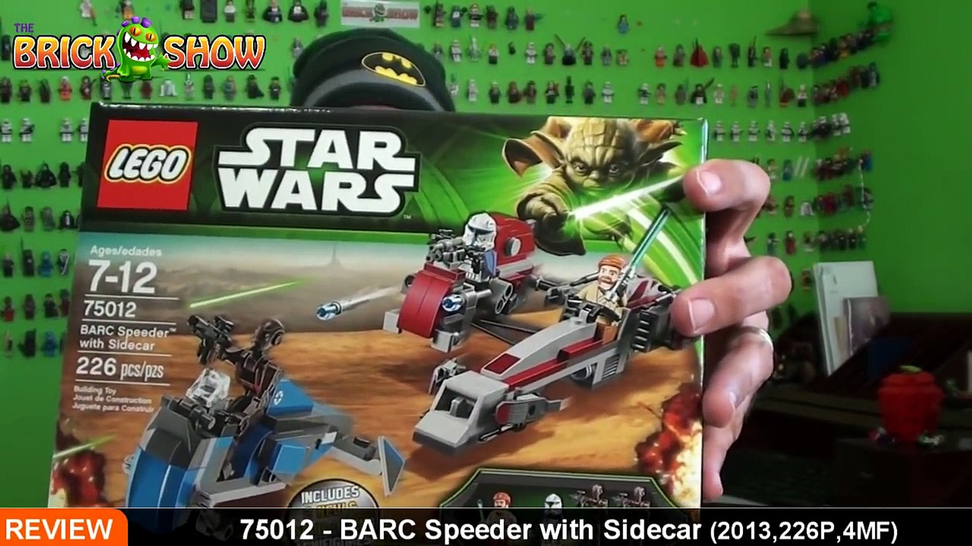 Lego Star Wars Barc Speeder With Sidecar Review Lego 75012 Video Dailymotion