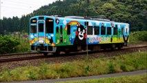 くまモン電車  3号車 台湾人気 可愛