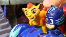 The Lion Guard Kion And PJ Masks Team Up To Rescue Lost Dog At Hyenas Hide Out Playset