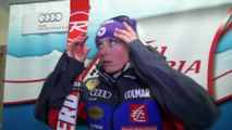Interview - Tessa Worley sur le podium de Sölden - Vidéo FFS/Eurosport
