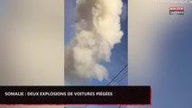Somalie : Deux véhicules piégés explosent dans la capitale, plusieurs morts (vidéo)