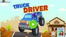 Car Driving for Kids : Truck Driver - Monster Truck, Truck, Fire Truck, Garbage Truck, Excavators