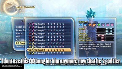Dragon Ball Xenoverse 2: How to Make a God Tier (Over Powered) Charer