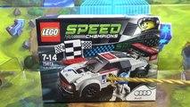 레고 75873 조립 과정 리뷰-스피드 챔피언 아우디 R8 LMS 울트라 경주용 자동차 LEGO Speed Champions Audi R8 Lms Ultra