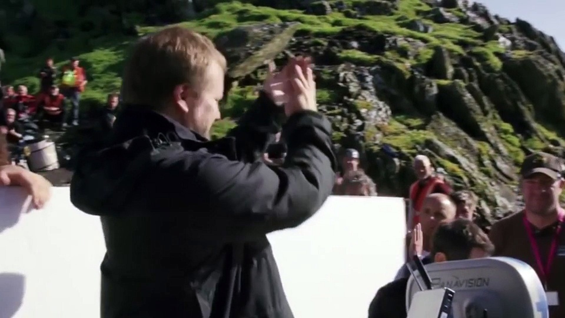 Rian Johnson goes behind scenes for Star Wars: The Last Jedi