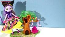 В гостях у Китти Чешир Подарок-сюрприз питомец для любимой Мультики куклы Эвер Афтер Хай на русском