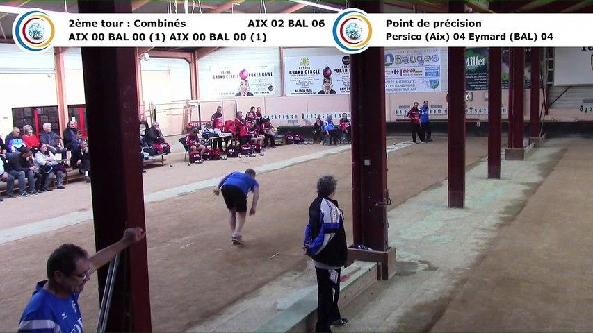 Second tour intégral, Club Elite Masculin J3, Aix-les-Bains contre Balaruc-les-Bains, octobre 2017