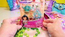 Disney Princess PURSE CANDY GAME with Surprise Toys Blind Bags Candy Kids Games