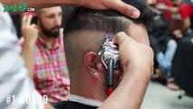 Undercut Fade Barber Tutorial! Mens Haircut & Style!