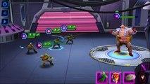 TMNT 1987 Animated Shredder & Animated Krang VS Ninja Turtles TMNT Legends gameplay compilation 2017