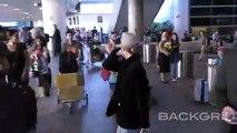 Watch As Vanessa Paradis Shoves Cameraman At LAX