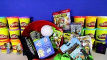 GIANT CREEPER Surprise Egg Play Doh - Minecraft Toys Mini-Figure TMNT Lego