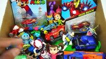 Box Full of Toys | Disney Cars Figures Hot Wheels Cars Vehicles Cars Disney toys Action Figures 3