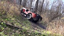 Willys Jeep Off-Road at Haspin Acres - Mud, Hill Climbs, and Flex
