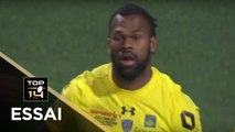 TOP 14 - Essai Alivereti RAKA (ASM) - Clermont - Paris - J8 - Saison 2017/2018