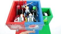 How To Build LEGO Coca-Cola & Pepsi Soda Fountain Machine