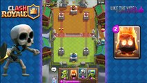Clash Royale - Skeletons vs All Cards | How to use Skeletons on Defense!