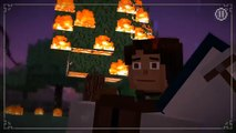Lets Play Minecraft Story Mode The Wither Storm Returns Superhero Petra! [#21] FUN Apps For Kids