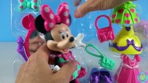 Disney Minnie Mouse Ball Gala Dress Up Doll With Help From Molly Guppy Bubble Guppies!