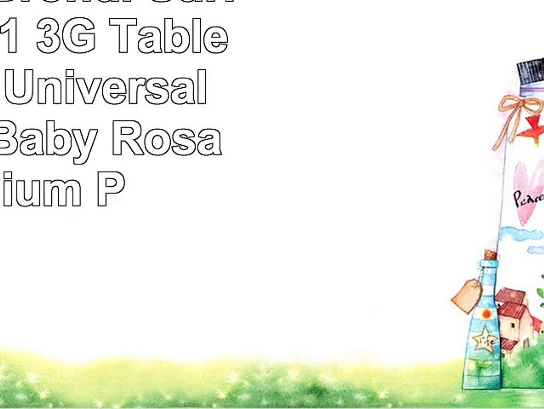 Emartbuy Brondi Surfing Tab 101 3G Tablet 101 Zoll Universal  9  10 Zoll  Baby Rosa